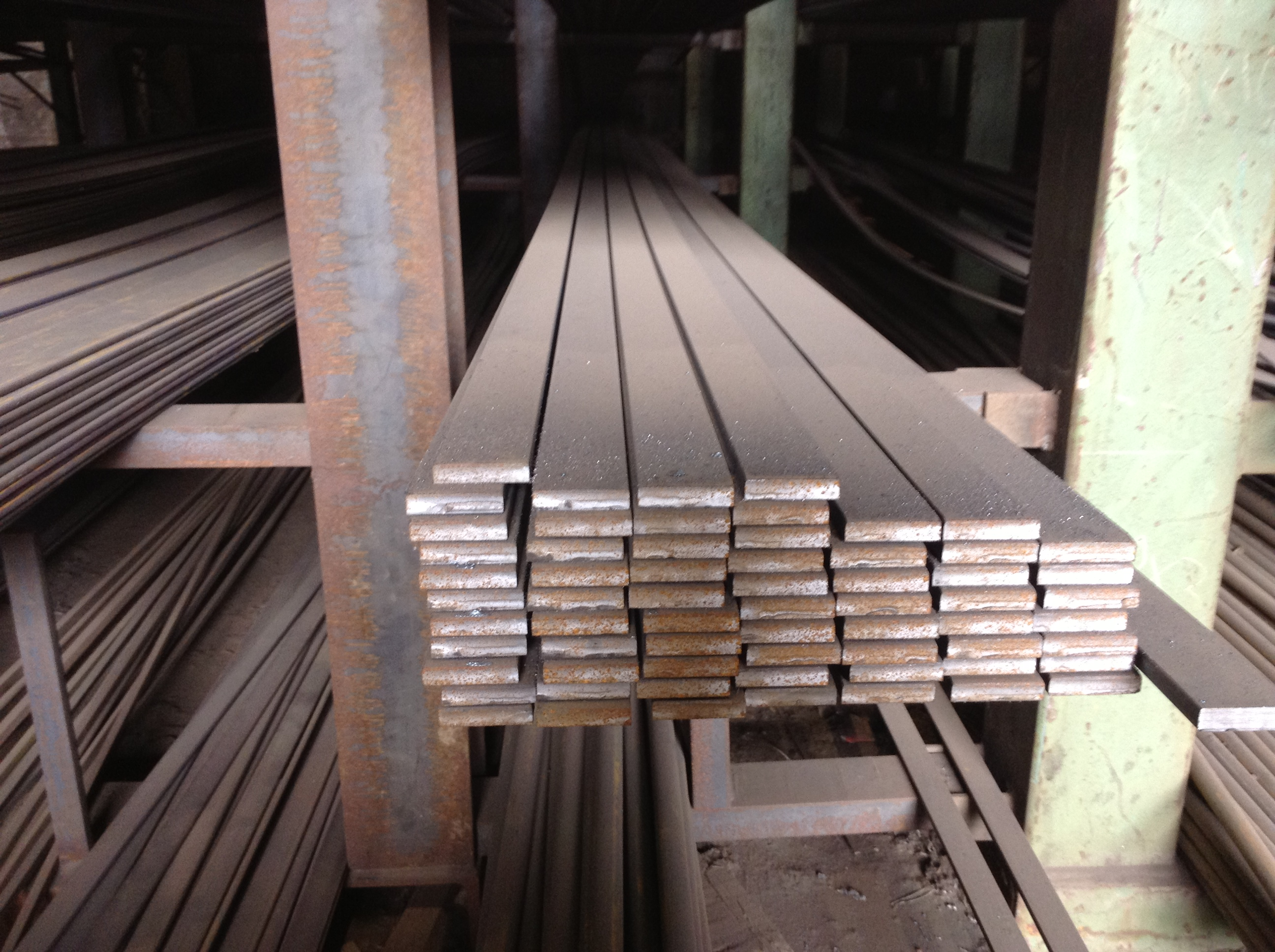 4 950 200mm X 6mm Mild Steel Metal Flat Bar From Ainscough