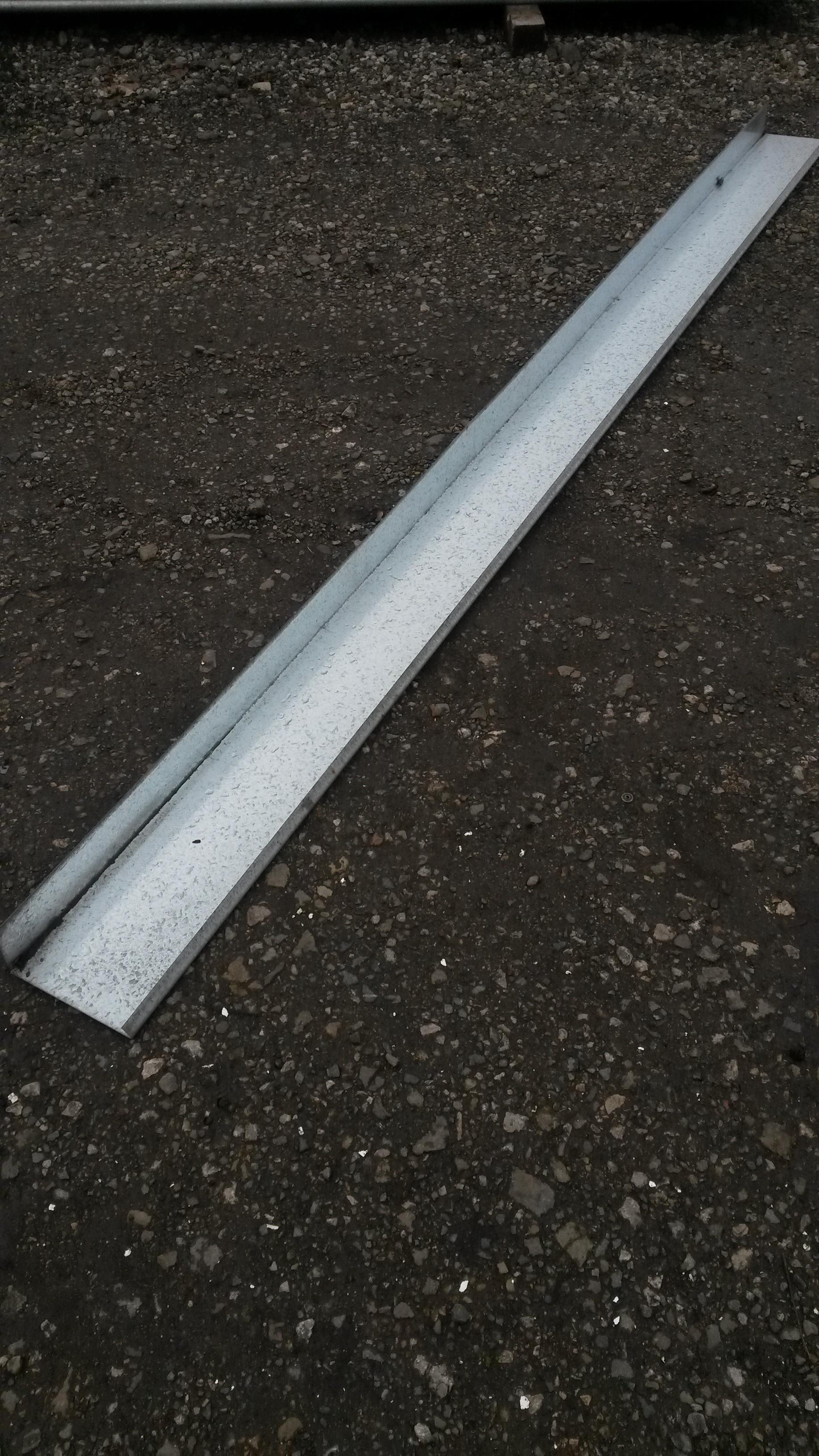 Used Galvanised Edge Trim Edgings Boards Edge Pieces